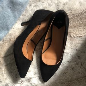 Cute Black Kitten Heels